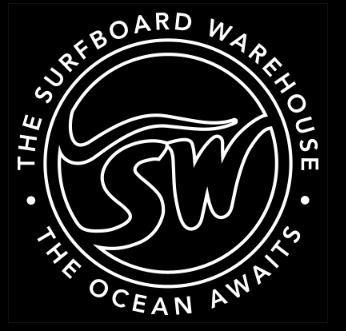 The Surfboard Warehouse Logo | Impact LED Screen